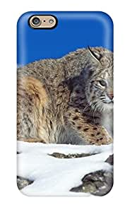 Cold Stare Bobcat Case Compatible With Iphone 6/ Hot Protection Case