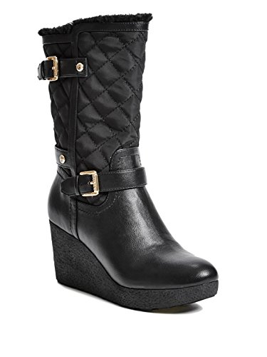 cheap guess womens heidy wedge booties sale