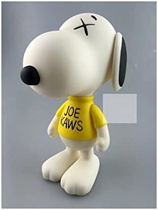 White Dog KAWS 8 inch BFF Dissected Companion Original Fake Art Toys Action Figure Figurine Plush Doll Toy Model Statue Accessories Collection Morden Gift for Boyfriend