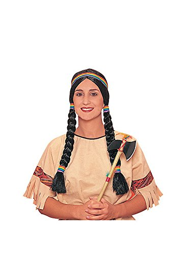 Forum Novelties Native American Princess Wig, Black/Brown, One Size - http://coolthings.us