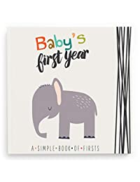 Lucy Darling Baby's First Year Memory Book: A Simple Book of Firsts - Little Animal Lover BOBEBE Online Baby Store From New York to Miami and Los Angeles