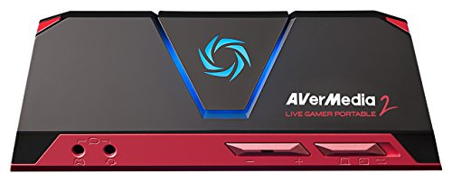 AVerMedia Live Gamer Portable 2, Full HD 1080p60 Recording Without PC Directly to SD Card, Ultra Low Latency, H.264 Hardware Encoding, USB Game Capture, Record, Stream, Plug & Play, Party Chat, XBOX, Playstation, Nintendo Switch (GC510) (H.264 Pc)