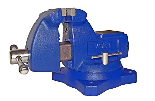 Yost Vises 640 4'' Mechanics Bench Vise by Yost Tools