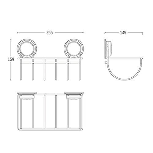 FEIRONG Toallero de cocina con ventosa para baño (acero inoxidable): Amazon.es: Hogar