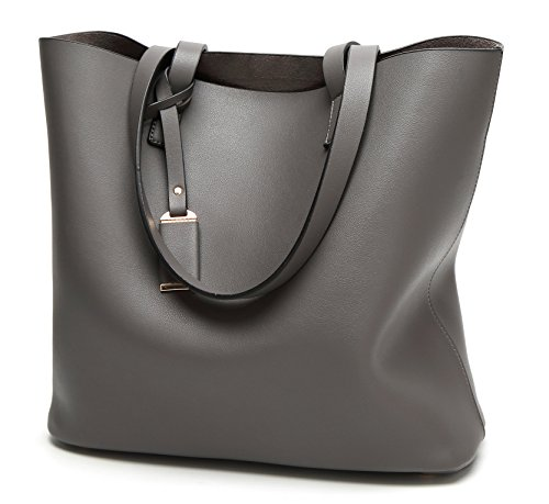 Faux Leather Tote - 5