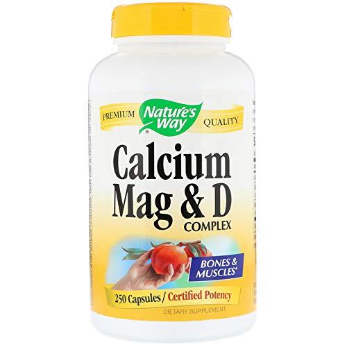 (Nature's Way Calcium, Magnesium and Vitamin D, 250 Capsules )