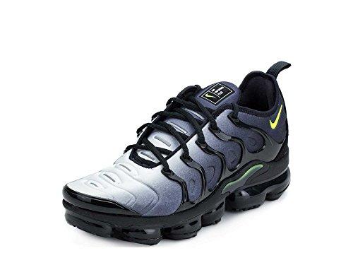1445418ad2f Galleon - NIKE Men s Air Vapormax Plus Shoe Black Volt White (10 D(M) US)