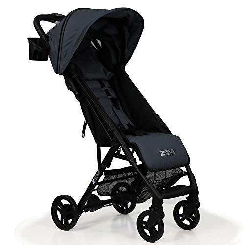 ZOE XLC Best Lightweight Travel & Everyday Umbrella Stroller System (Noah Grey)