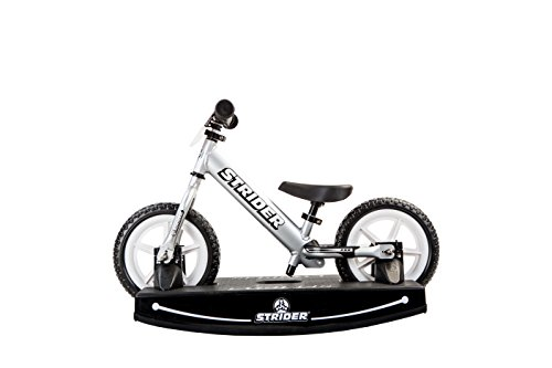 Strider - 12 Pro Baby Bundle with Balance Bike and Rocking Base, Ages 6 Months to 5 Years, Silver by Strider (Image #2)