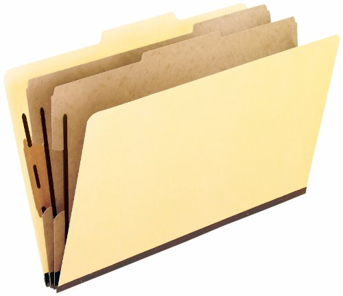 Pendaflex 03352 Pendaflex Manila Economy Classification Folders, Legal, 6-Section, 15/Box