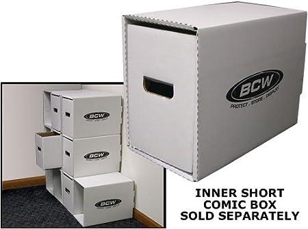 High Quality BCW Short Comic Storage Box w// Art Design of Belle Beast Hunter