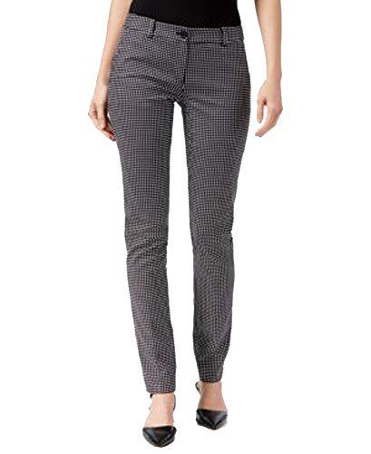 Michael Michael Kors Petite Miranda Printed Skinny Pants (Black, 4P / 4 ()