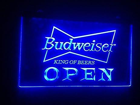 A113 r open budweiser beer nr pub bar neon light signs amazon a113 r open budweiser beer nr pub bar neon light signs aloadofball Image collections