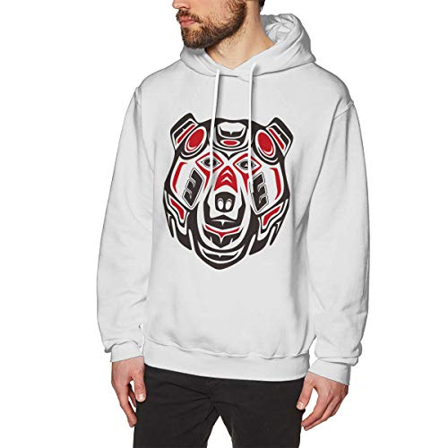 XHX Men's Totem Bears Hooded Sweatshirt