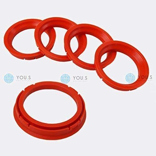 Proline Wheels DBV Schmidt Revolution 5 x ZENTRIERRINGE DISTANZRINGE f/ür ALUFELGEN 73,0-57,1 mm CMS