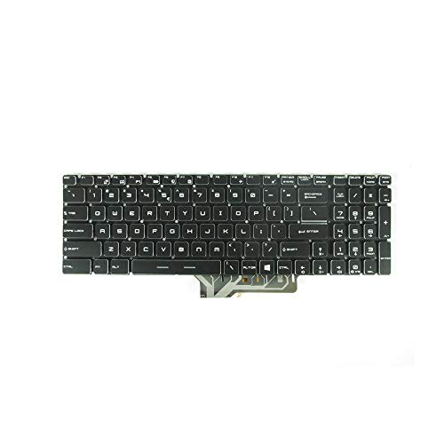 New Keyboard Replacement for MSI GS60 GS70 WS60 GE62 GP62 GS72 GE72 GT72 2QD 2QE 2QF 6QD MS-16J1 MS-16J2 MS-1781 with Backlit US