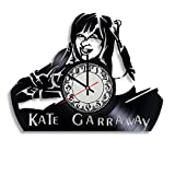 Kate Garraway Actress Handmade Vinyl Record Wall Clock, Get Unique Bedroom or Nursery Wall Decor - Gift Ideas for Kids and Teens - Unique Art Design