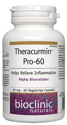 Magnesium Stearate Gluten - Bioclinic Naturals Theracurmin-Pro 60 60 vcaps (Formerly Theracurmin-Pro 600)