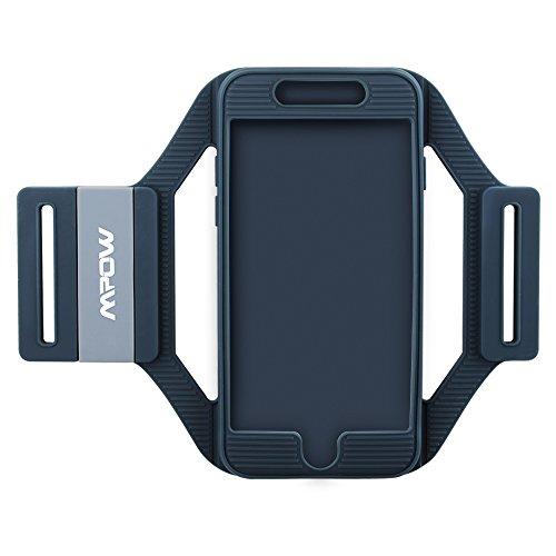 Sport Armband Hülle, Mpow Sport Armband Handyhülle für iPhone7 6s 6 , Silikon Sport-Armband, leicht, flexibel, gut abgerundeten Schutz präzise Ausschnitte für Anschlussverbindung während Training und Rennen
