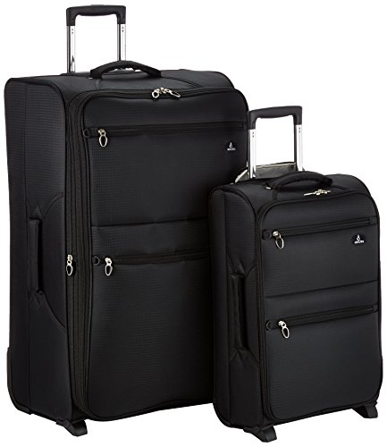 Aerolite The London Collection Juego de maletas Aero9985 21/29 Black, 75 cm, 103 L, Negro