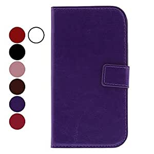 Pu Leather Grain Full Body Case with Stand and Card Slot for Samsung Galaxy S3 I9300 (Assorted Colors) --- COLOR:Green