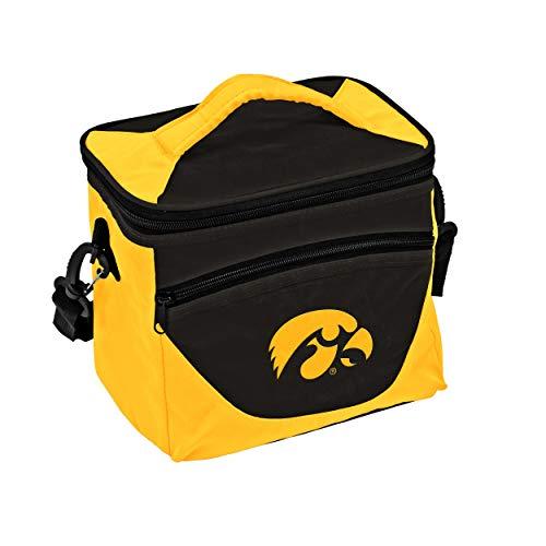 Iowa Hawkeyes Lunch Box - NCAA Iowa Hawkeyes Adult Halftime Cooler, Black