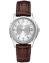 Hamilton Mens HML-H32411555 Jazzmaster Silver Dial Watch