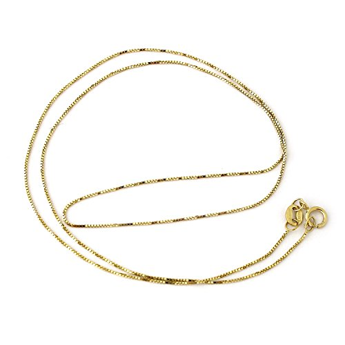 10k-yellow-gold-06mm-box-chain-necklace-20
