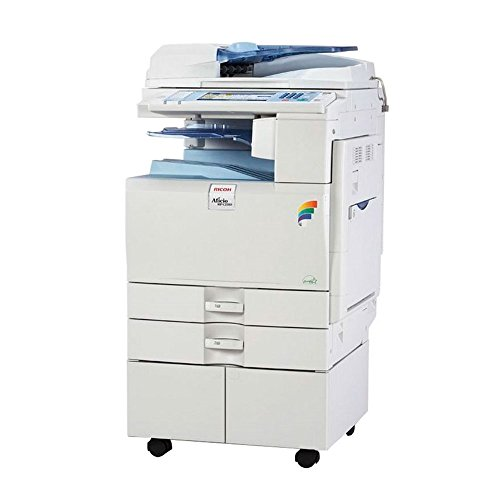 (Refurbished Ricoh Aficio MP 3351 Monochrome Multifunction Copier - A3, 33 PPM, Copy, Print, Scan, 2 Trays and Stand)