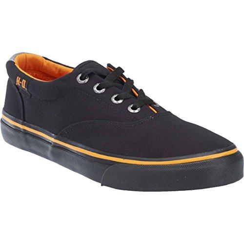 Harley-Davidson Men's Lawthorn Low Prolile Skate Shoe, Black/Black, 10 M US