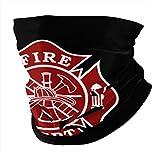 JinSPef Bandana Face Mask - Fireman Fire Maltese