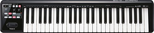 Roland Lightweight 49-Key MIDI Keyboard Controller, black (A-49-BK) (Best Midi Controller On The Market)