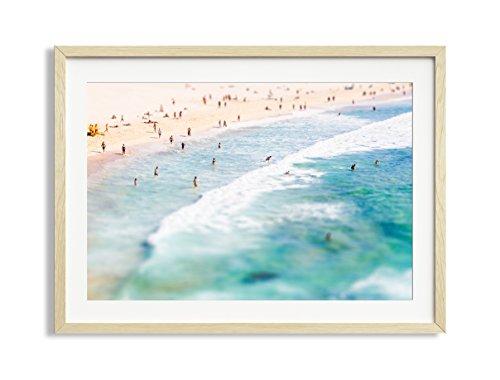 "30x42"" Framed Extra Large ""Lazy Daze"" Bondi Beach Australia"