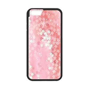 IPhone 6 Cases Floral Pattern 02, IPhone 6 Cases Floral Texture Protective For Girls, [Black]