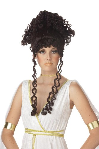 Brunette Athenian Goddess Adult Wig - California Costumes Women's Athenian Goddess Costume