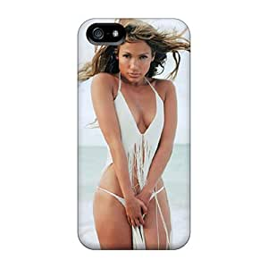 Anti-Scratch Hard Phone Cover For Apple Iphone 5/5s With Customized HD Jennifer Lopez Pictures JoannaVennettilli