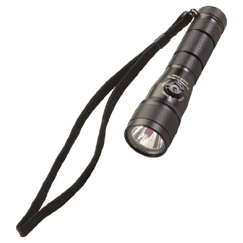 Streamlight 51056 Night Com Tactical Flashlight LED with Lithium Batteries in Blister Pack, Black
