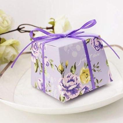 Amazon Com Fidgetfidget Party Favor Candy Boxes Wedding Gift