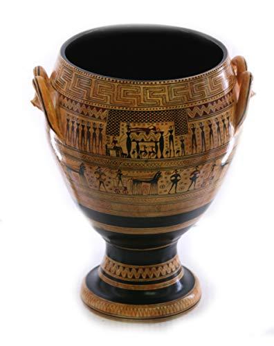 The Dipylon Krater Geometric Period Vase Ancient Greek Pottery Museum Copy