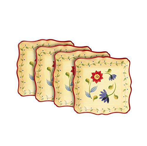 Pfaltzgraff Napoli Square Salad Plates, Set of 4