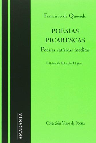 Descargar Libro Poesías Picarescas Ricardo Llopesa