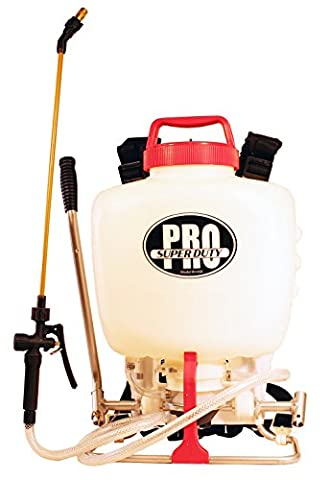 RL Pro-Flo Heavy Duty Piston/Diaphragm Backpack Sprayer with Viton Seals, 4 gallon - Super Pro Pack