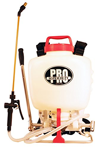 RL Pro-Flo Heavy Duty Piston/Diaphragm Backpack Sprayer with Viton Seals, 4 gallon
