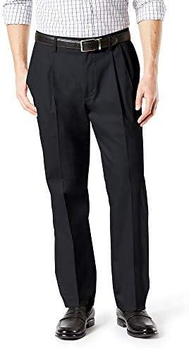 Dockers Men's Classic Fit Signature Khaki Lux Cotton Stretch Pants - Pleated
