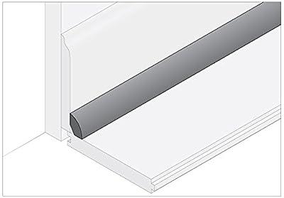 """Moldings Online 2000778024 78"""" x 0.75"""" x 0.468"""" Unfinished Bamboo Carbonized Horizontal Base Shoe"""
