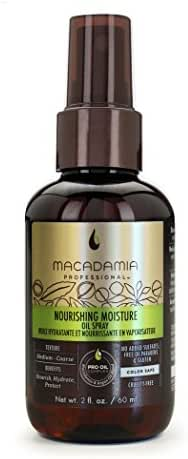 Macadamia Professional Hair Care Products Nourishing Moisture Oil Spray, 2 fl. oz.