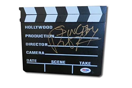 Robert Rodriguez Autographed Mini Movie Clapper Sin City Director PSA AE83509]()