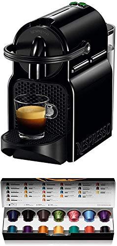 Nespresso De'Longhi Inissia EN80.B – Cafetera monodosis de cápsulas Nespresso, 19 bares, apagado automático, color negro…
