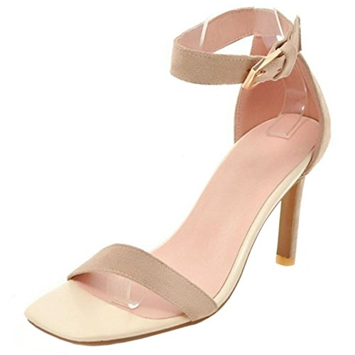 Stiletto Women Sandals Beige Fashion Zanpa SwpOtfq