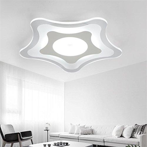 60 Cm, Weißes Licht, Deckenlampe Moderne Minimalistische Wohnzimmer Lampe  Schlafzimmer Lampe Gemütliche Küche Balkon Restaurant LED Leuchten Lampen  Kinder: ...